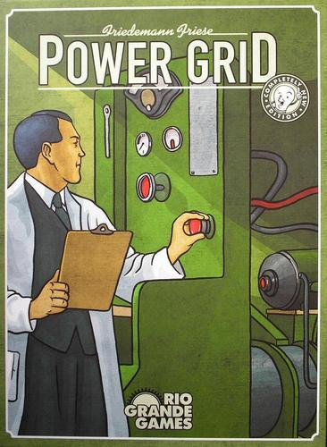 Powergrid Board Game